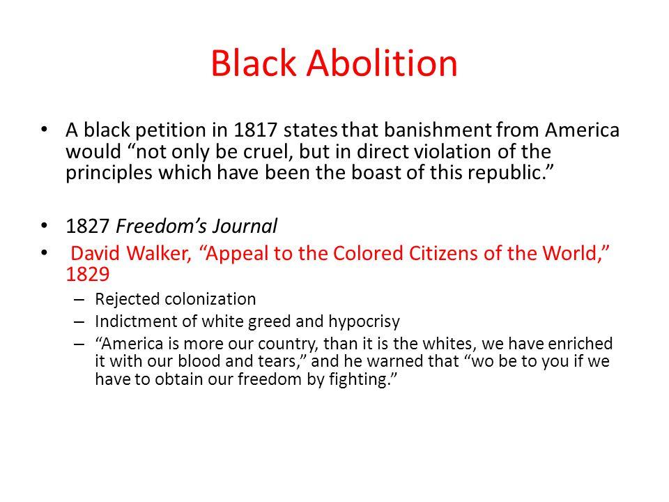 Black Abolition