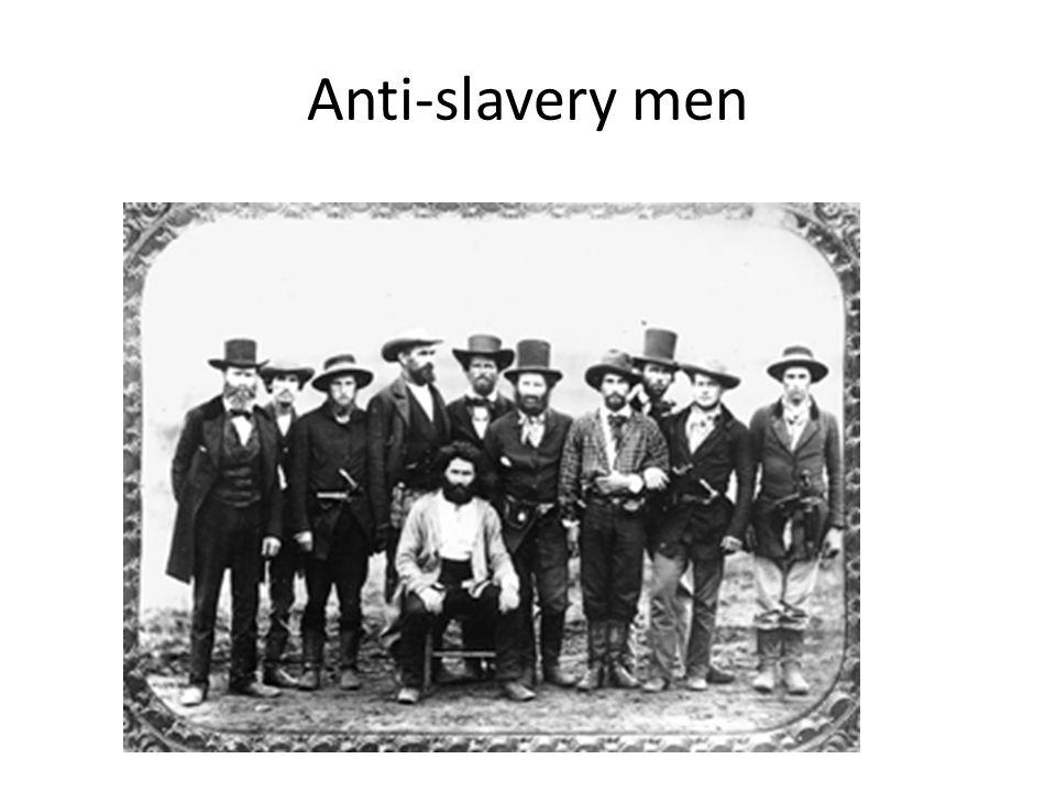Anti-slavery men Armed antislavery men with John Doy
