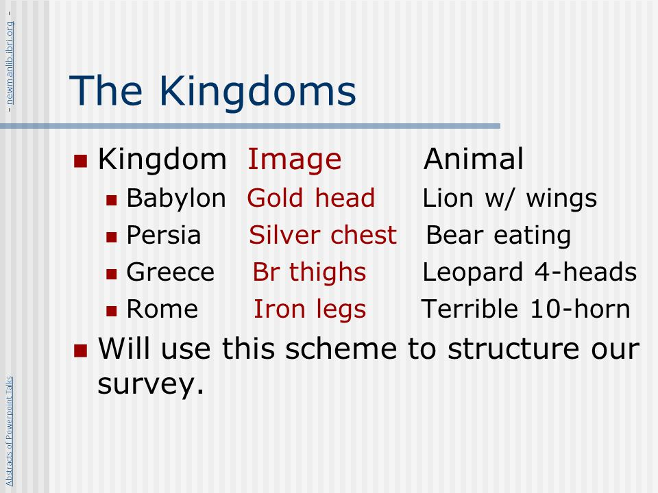 The Kingdoms Kingdom Image Animal