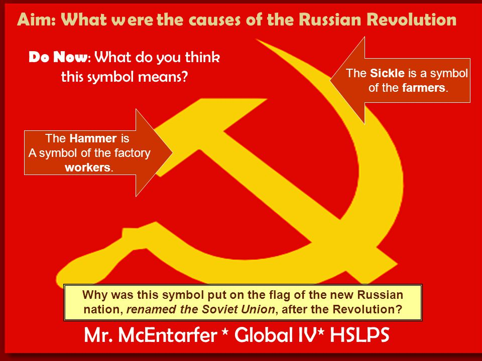 causes for the russian revolution