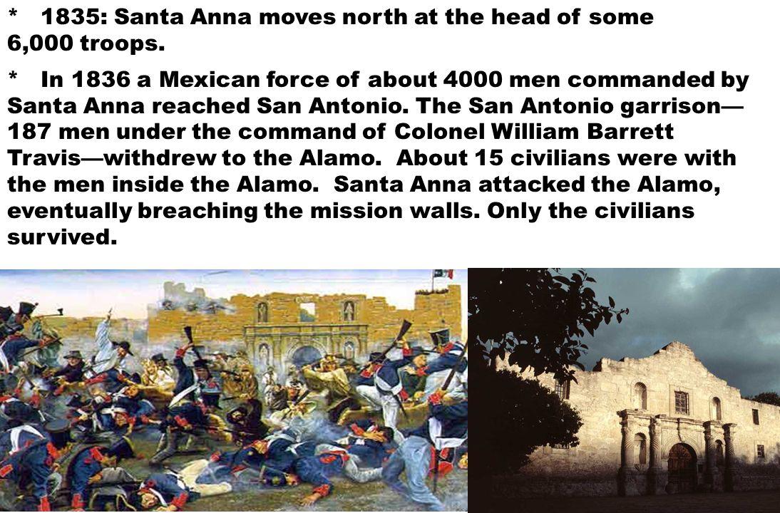 Santa Anna switches sides