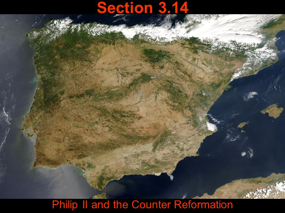 Philip II and the Counter Reformation
