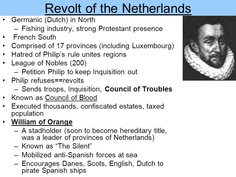 Revolt of the Netherlands
