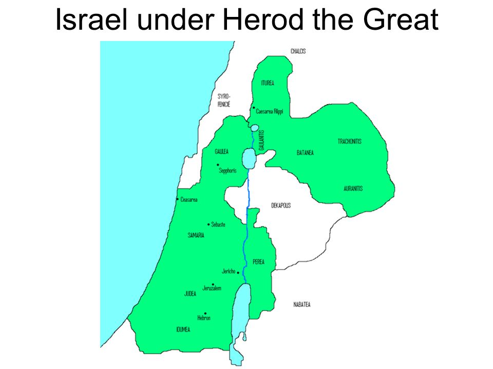 Israel under Herod the Great