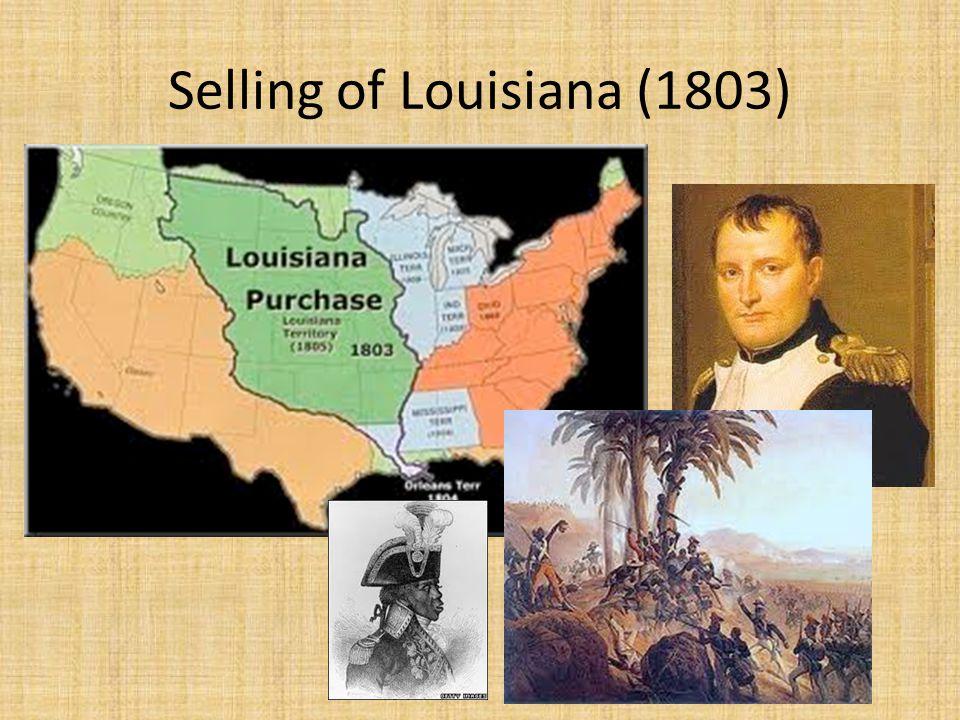 Selling of Louisiana (1803)