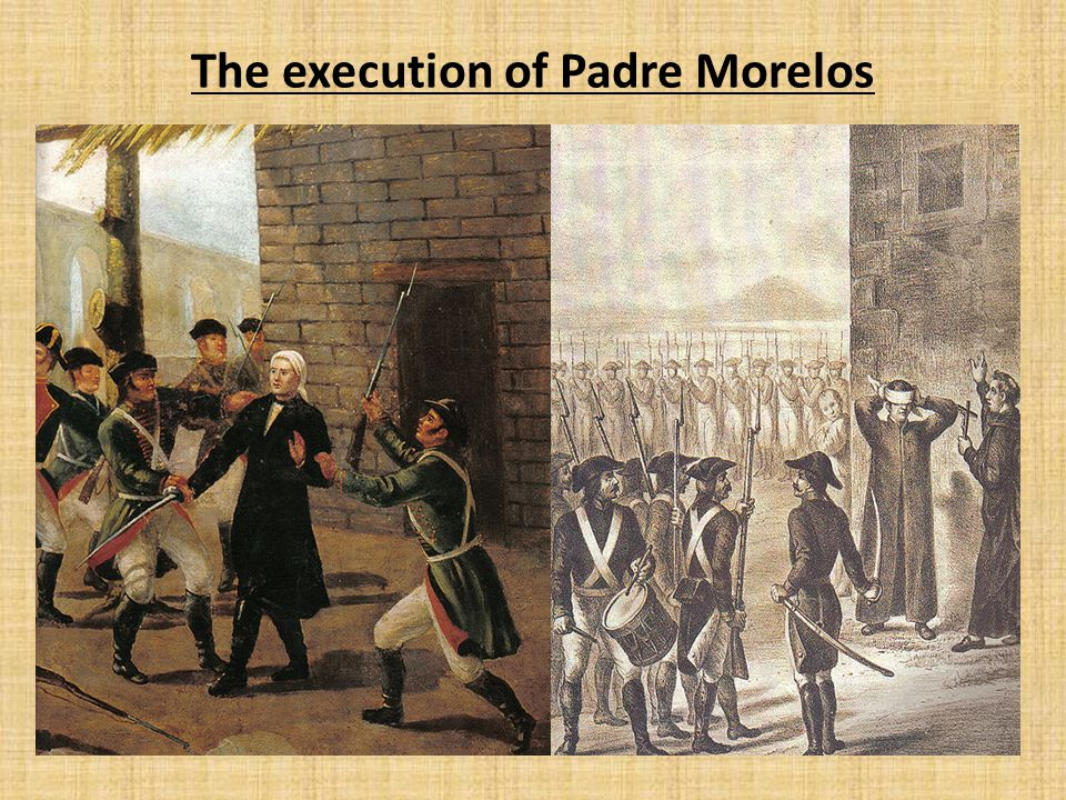 The execution of Padre Morelos