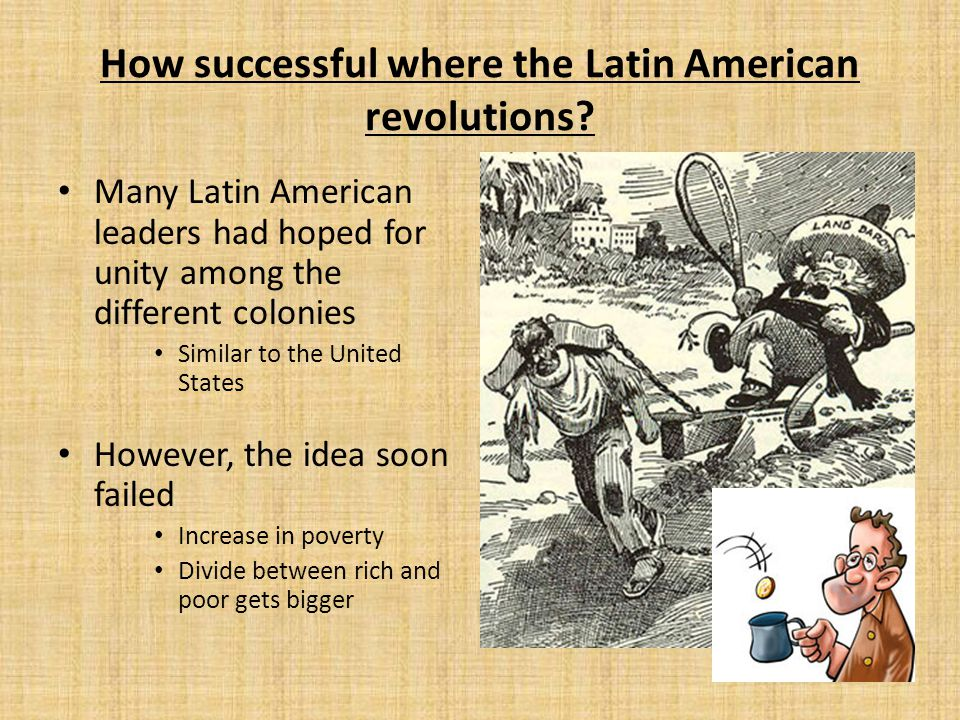 How successful where the Latin American revolutions