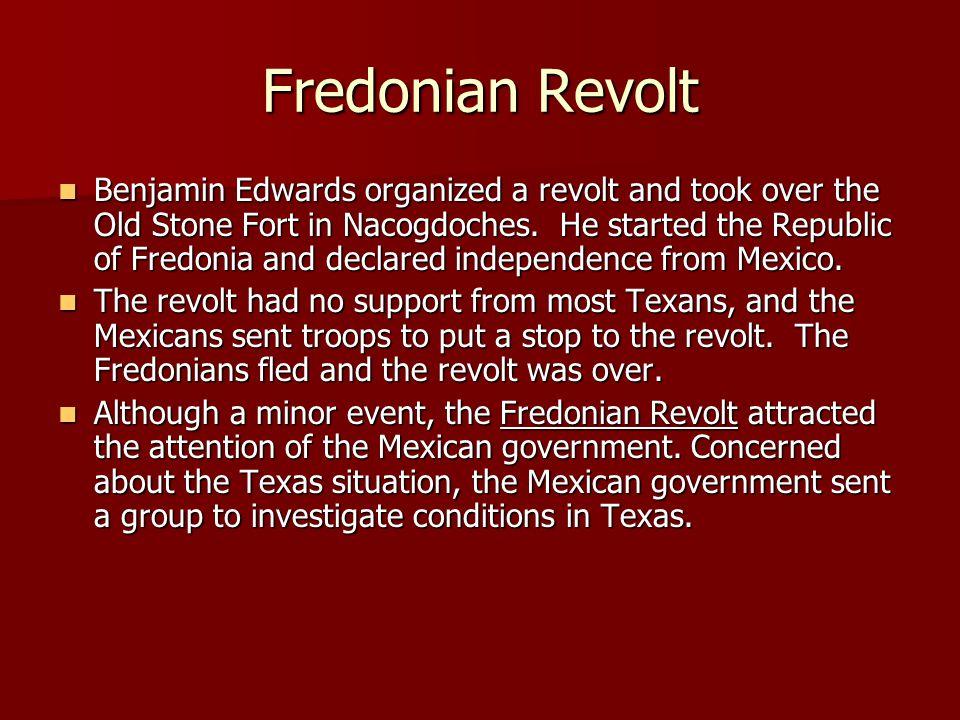 Fredonian Revolt