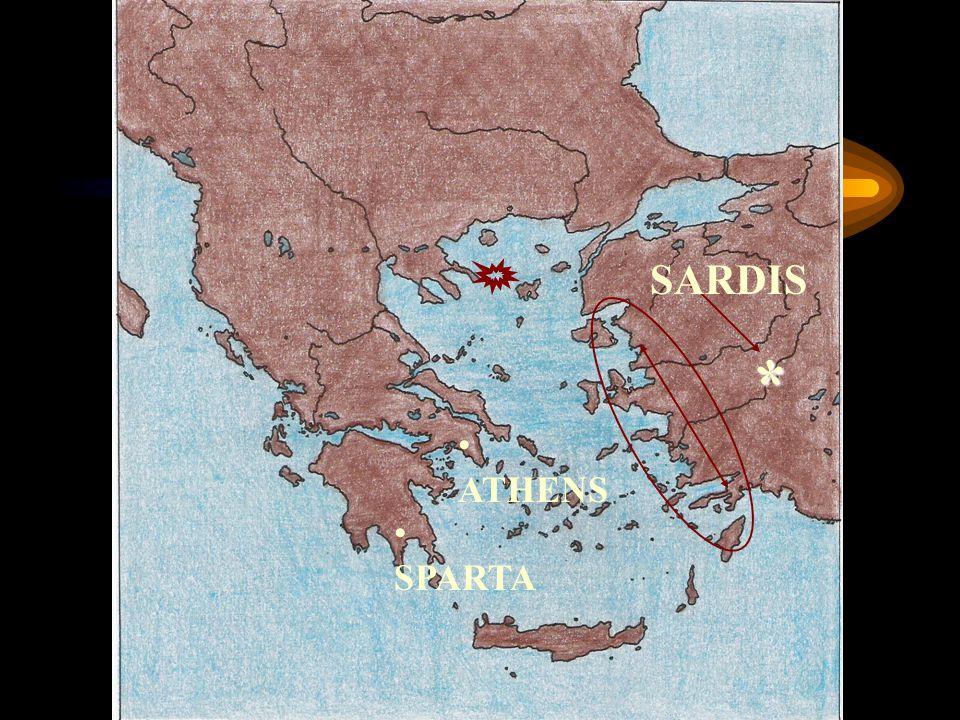 SARDIS * ATHENS SPARTA