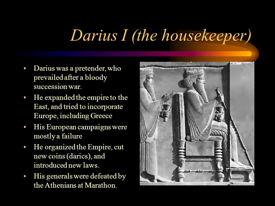 Darius I (the housekeeper)