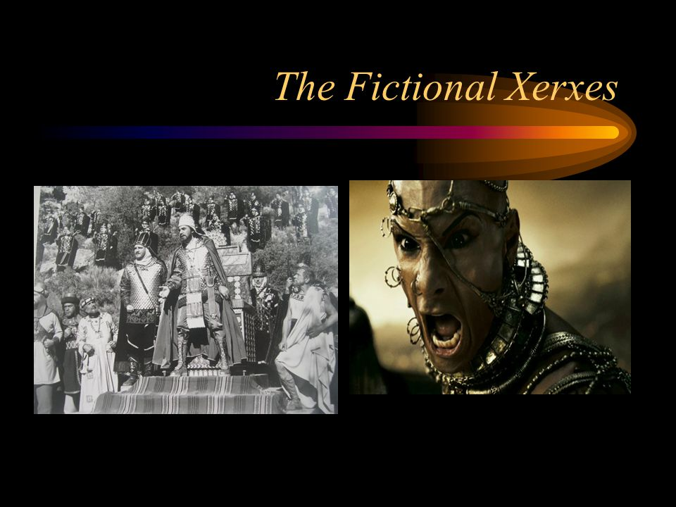 The Fictional Xerxes