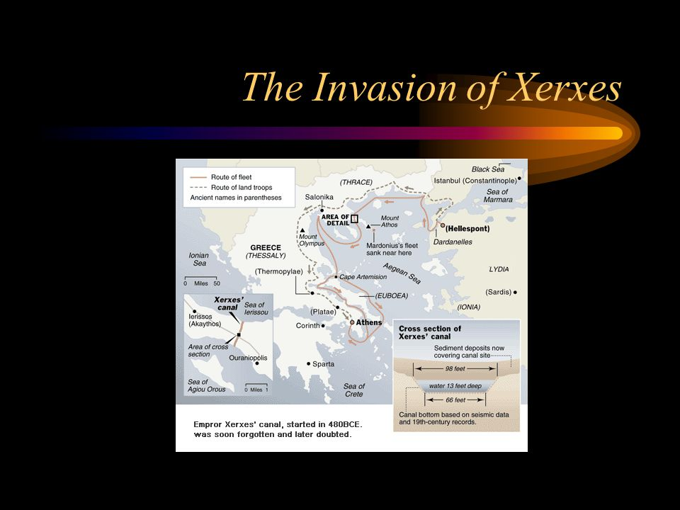 The Invasion of Xerxes