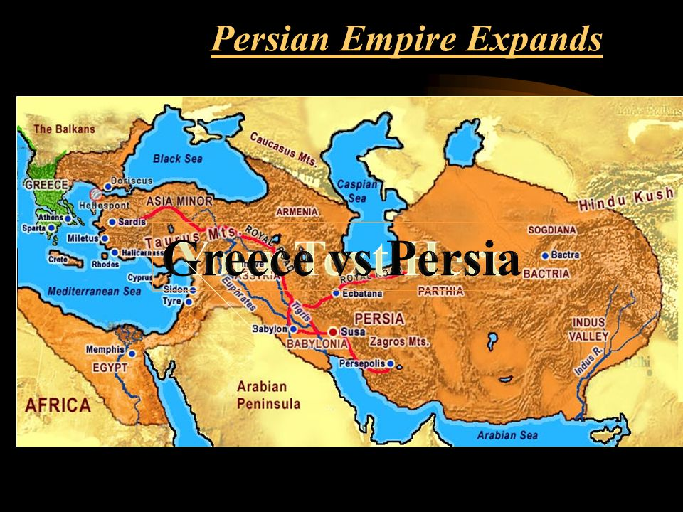 Reasons for greek victory and persian