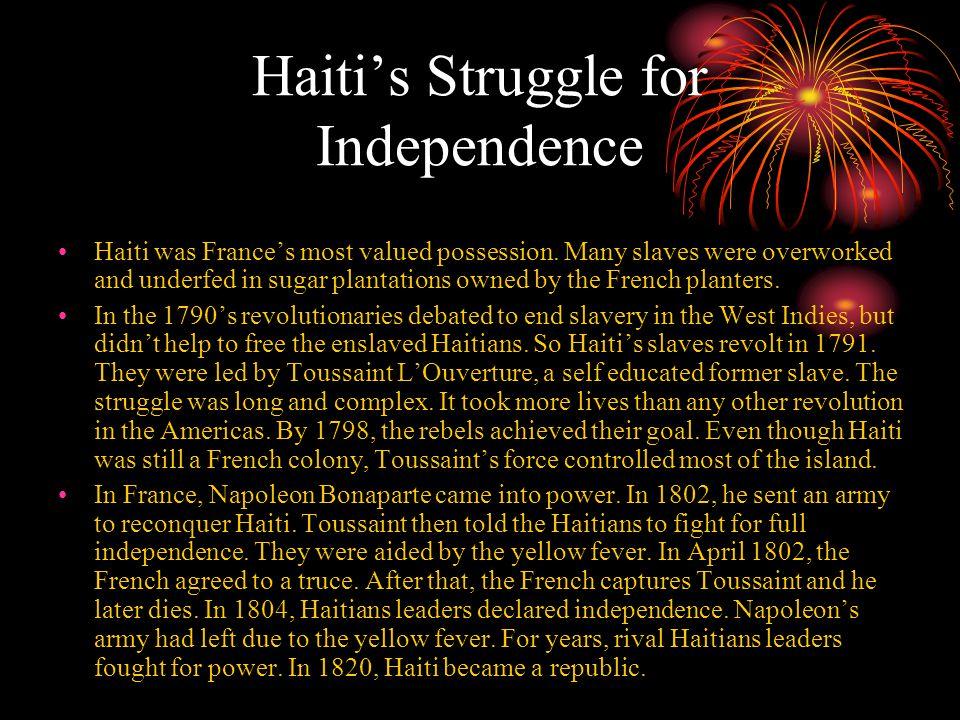 Haiti's Struggle for Independence