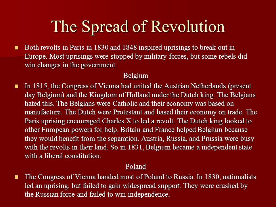The Spread of Revolution