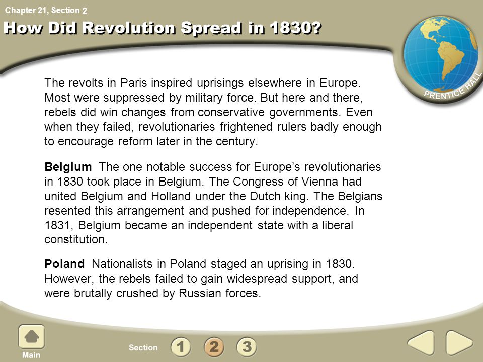 How Did Revolution Spread in 1830