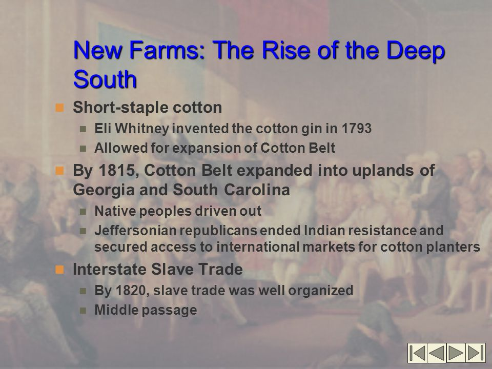 New Farms: The Rise of the Deep South