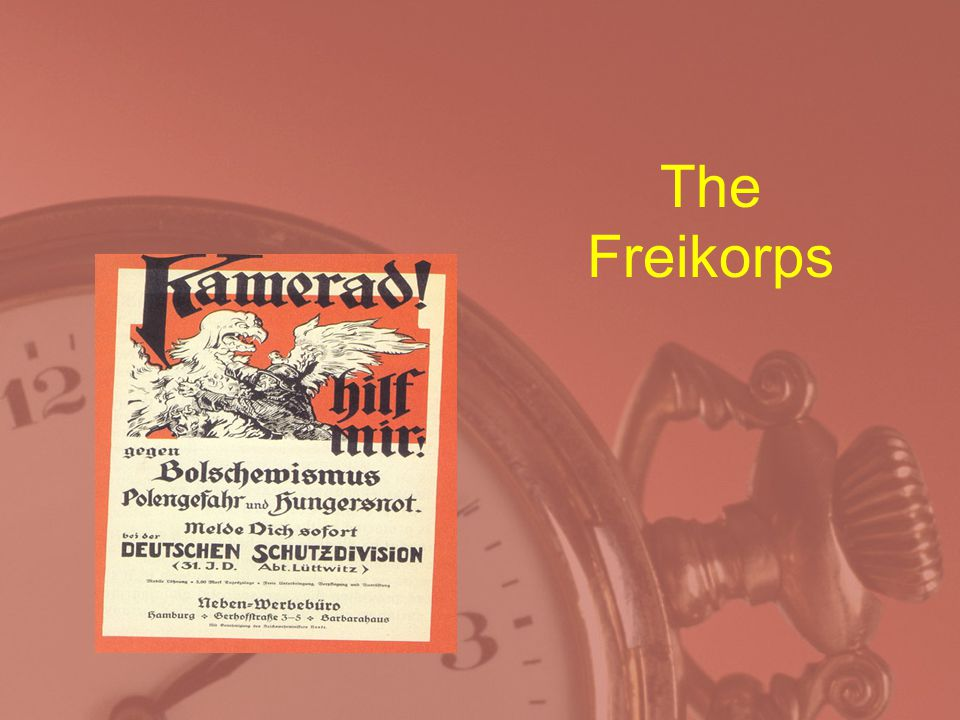 The Freikorps