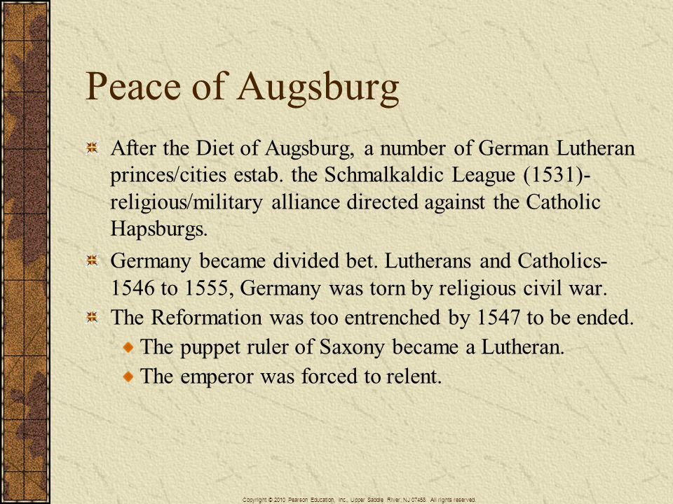 Peace of Augsburg