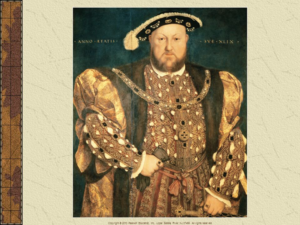 Hans Holbein the Younger (1497–1543) was the most famous portrait painter of the Reformation. Here he portrays a seemingly almighty Henry VIII.