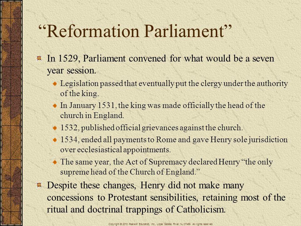 Reformation Parliament