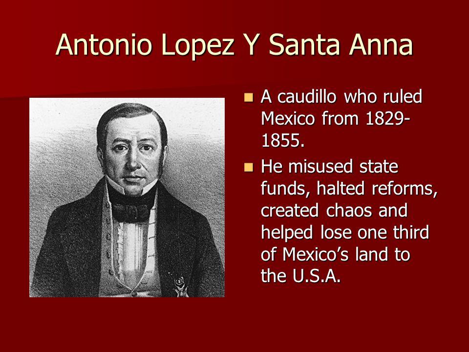 Antonio Lopez Y Santa Anna