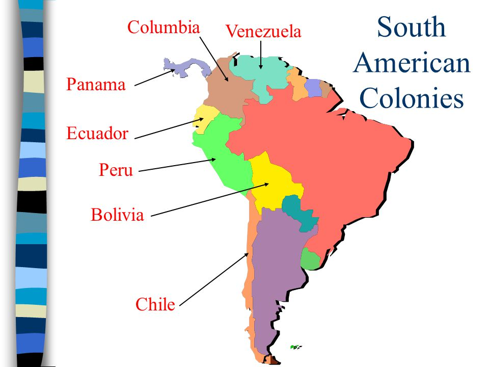 South American Colonies