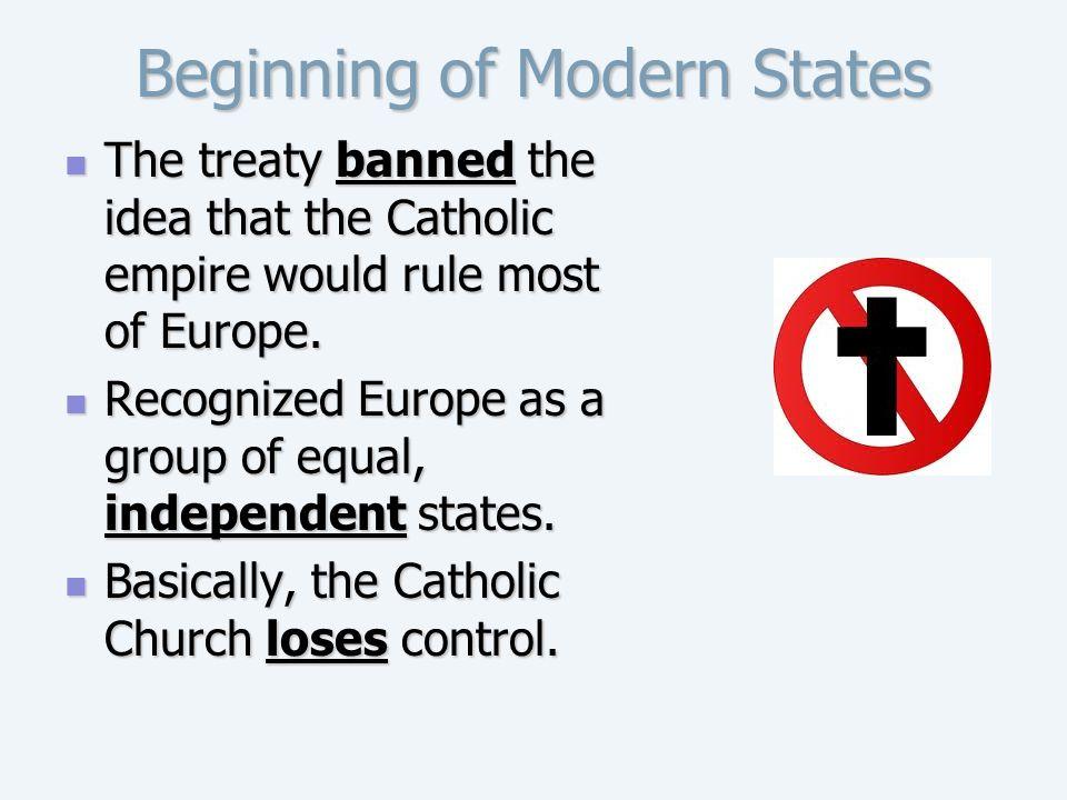 Beginning of Modern States