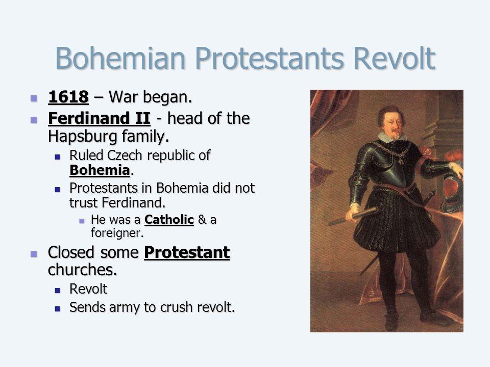 Bohemian Protestants Revolt