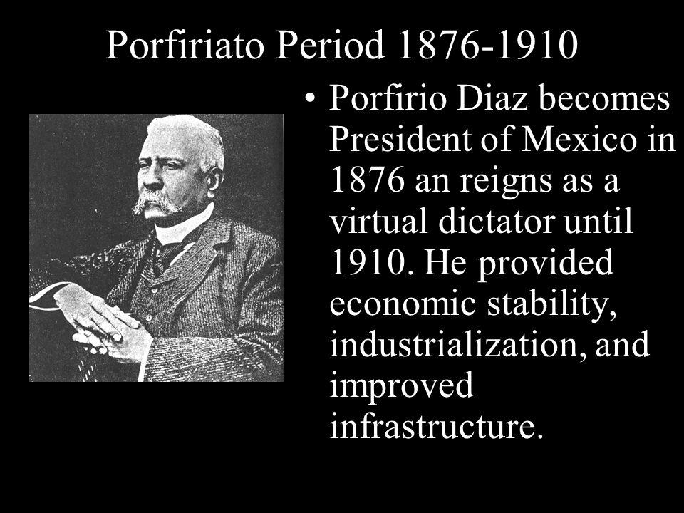 Porfiriato Period 1876-1910