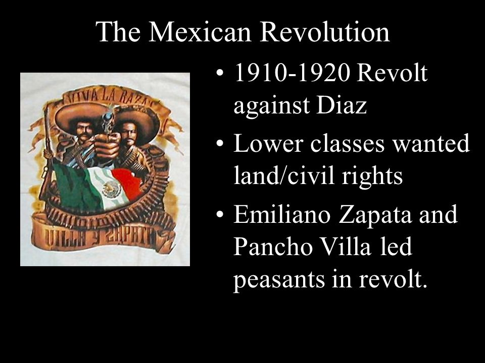 The Mexican Revolution