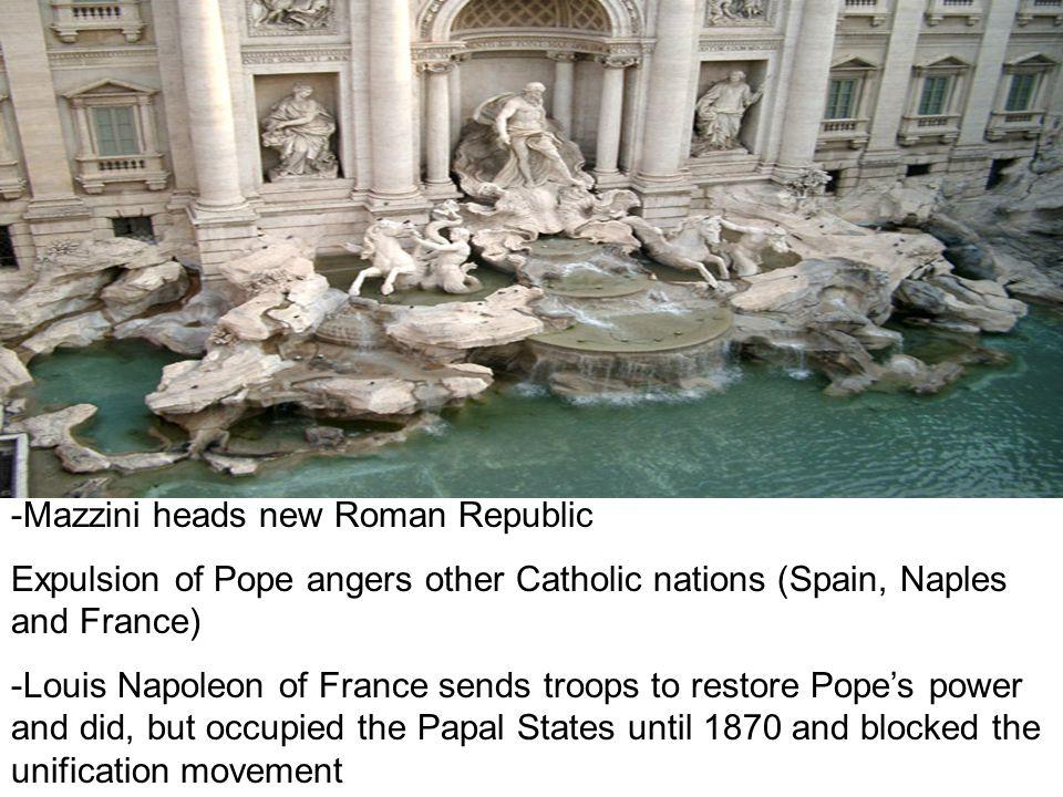-Mazzini heads new Roman Republic