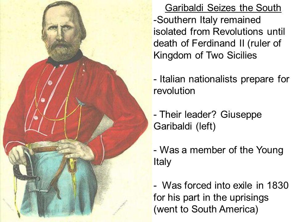 Garibaldi Seizes the South