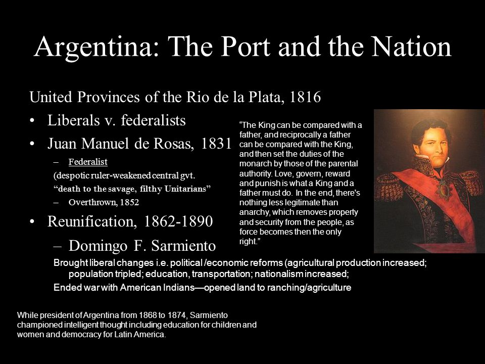 Argentina: The Port and the Nation
