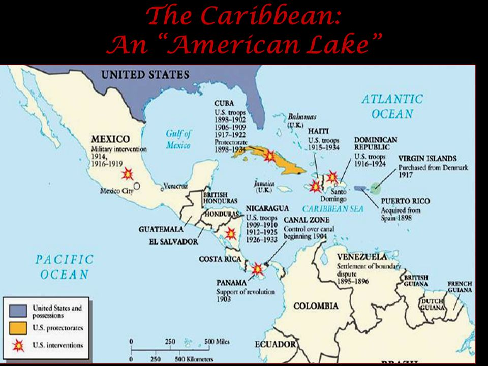 The Caribbean: An American Lake