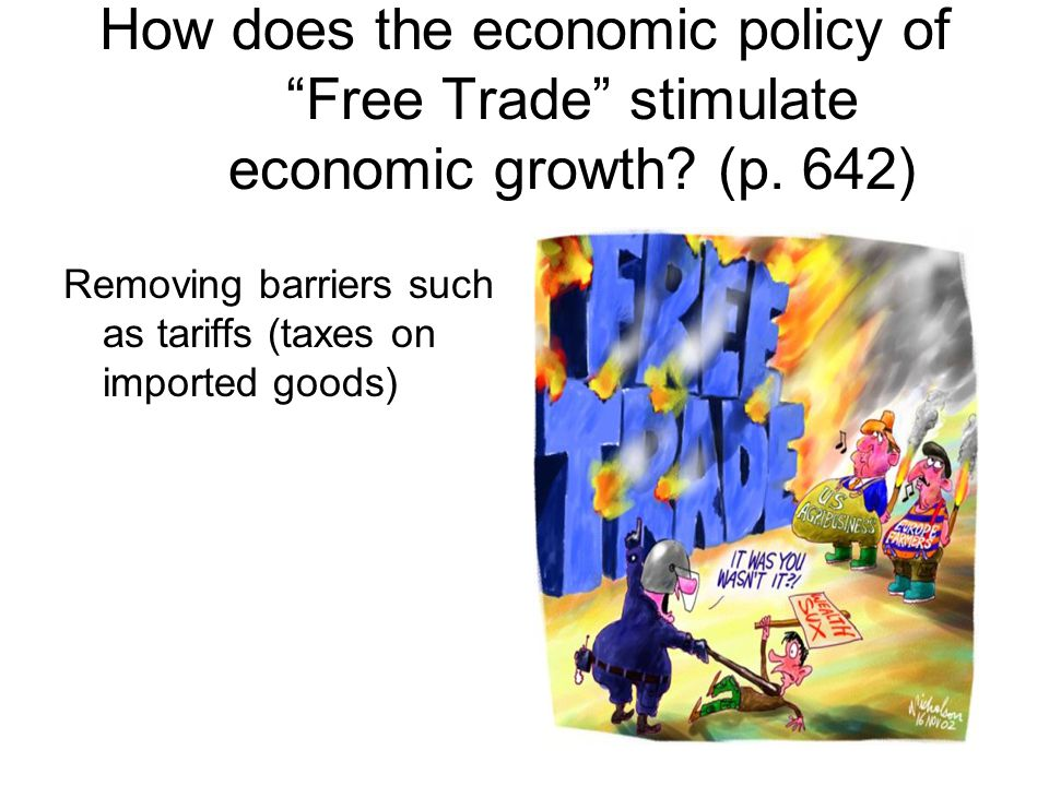How does the economic policy of Free Trade stimulate economic growth