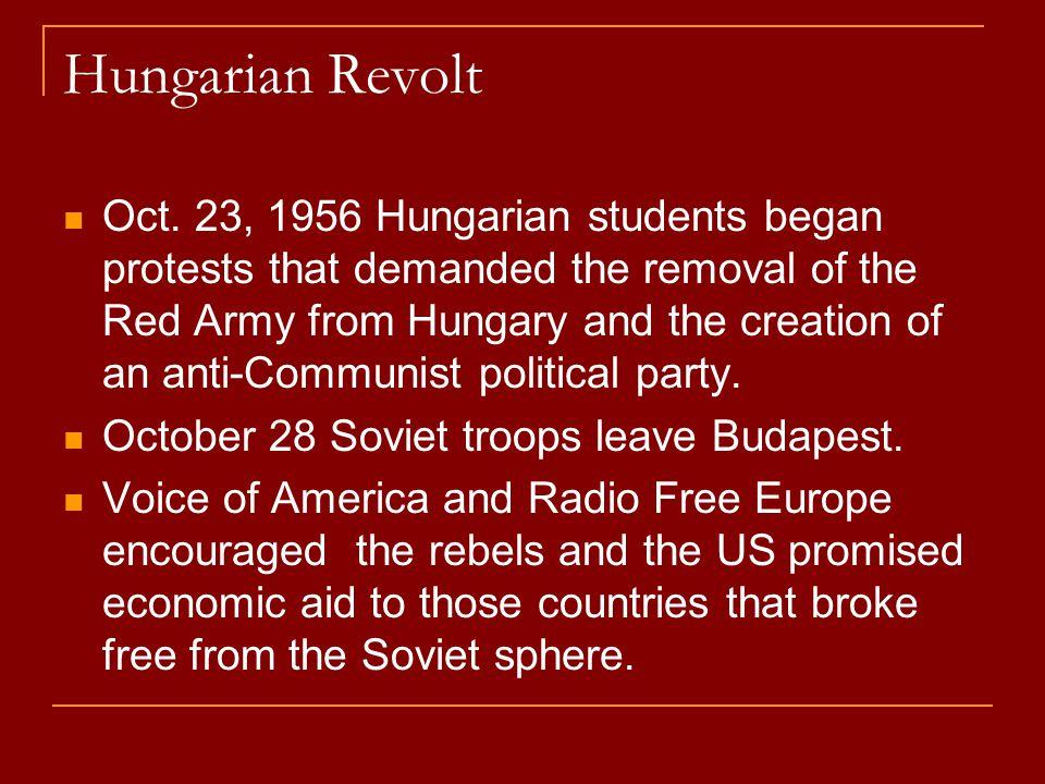 Hungarian Revolt
