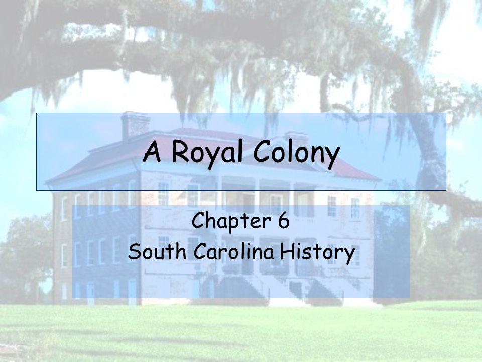 Chapter 6 South Carolina History