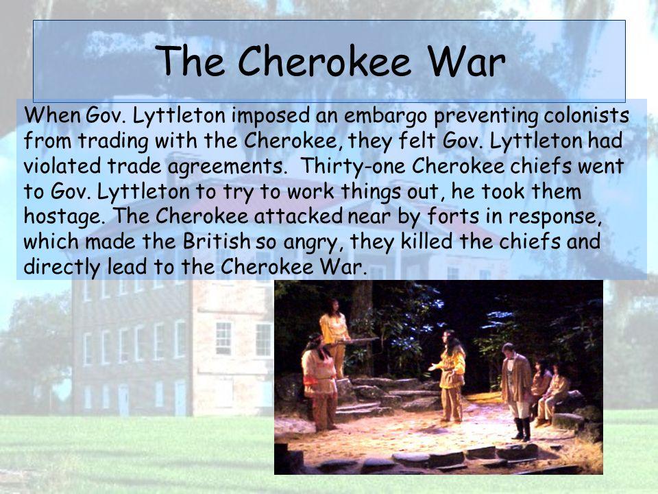 The Cherokee War