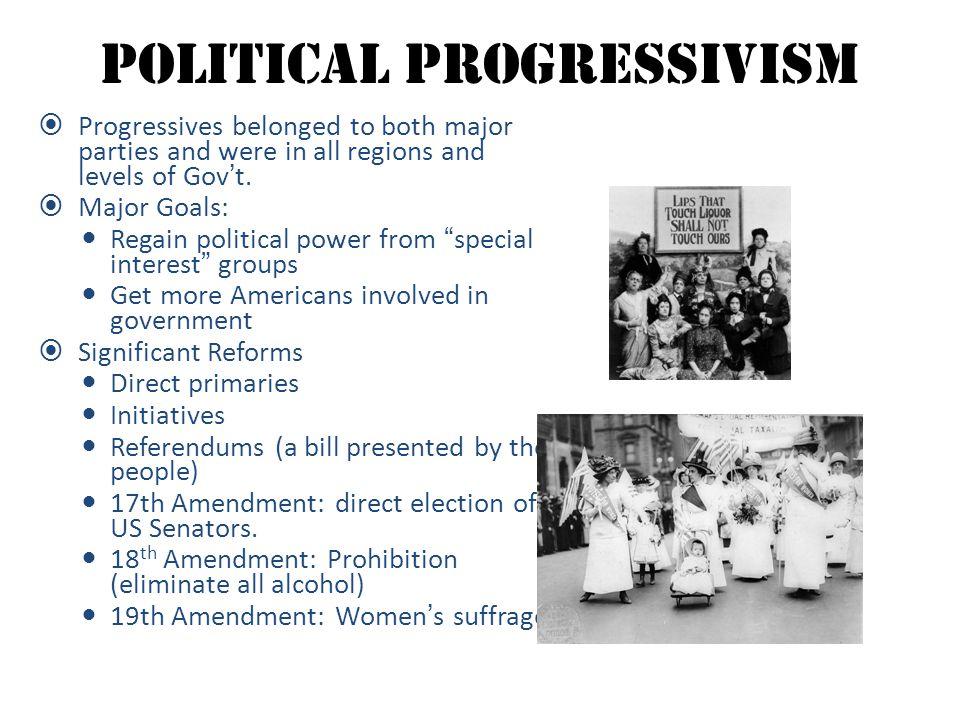 Political Progressivism