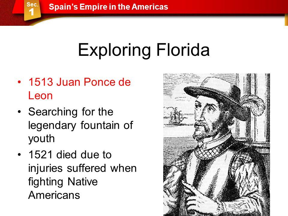 Exploring Florida 1513 Juan Ponce de Leon