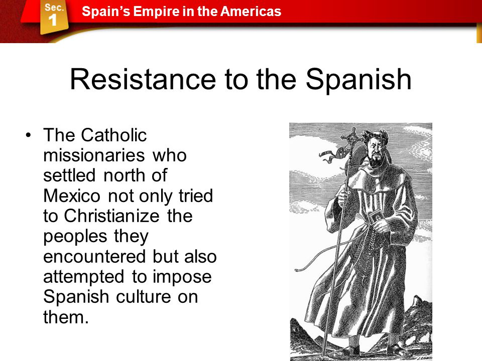 Resistance to the Spanish