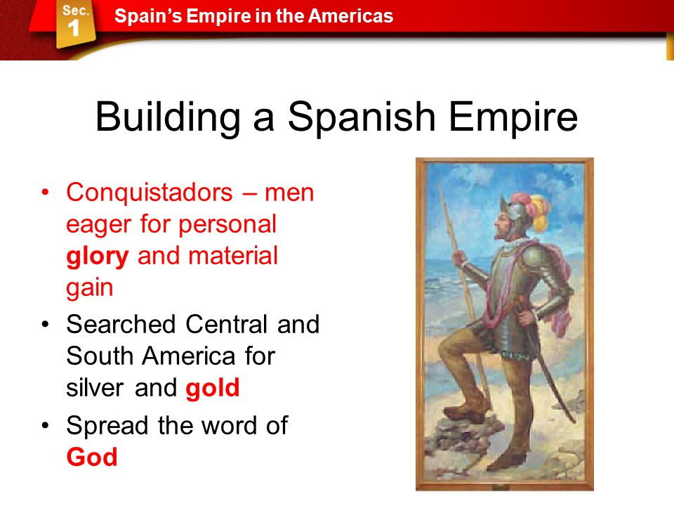 Building a Spanish Empire