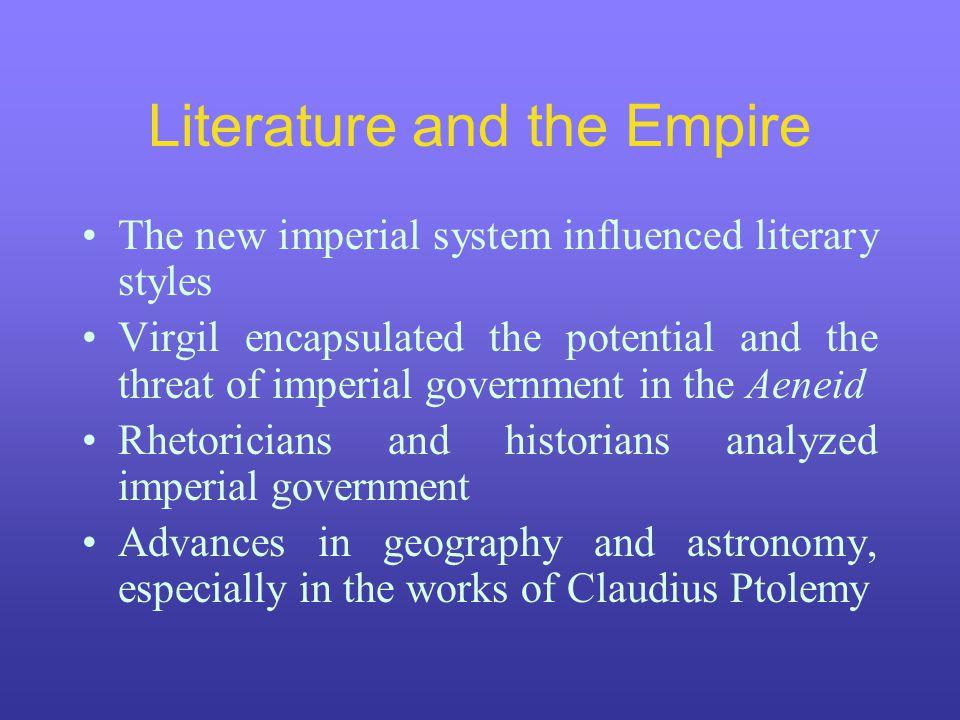 Literature and the Empire