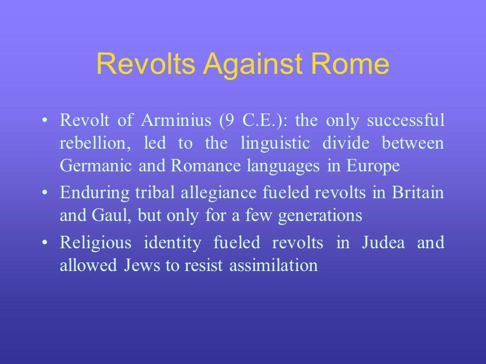 Revolts Against Rome
