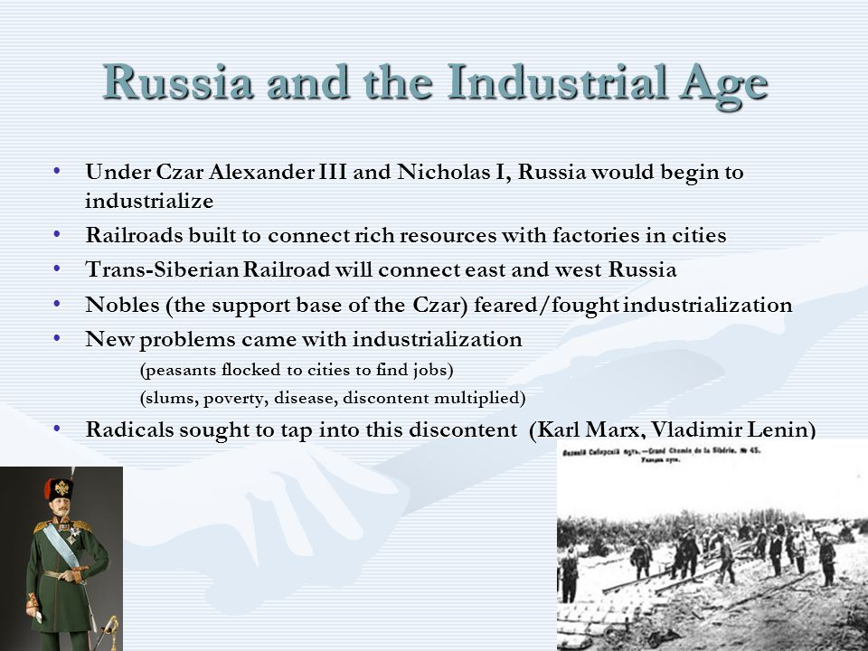 Russia and the Industrial Age