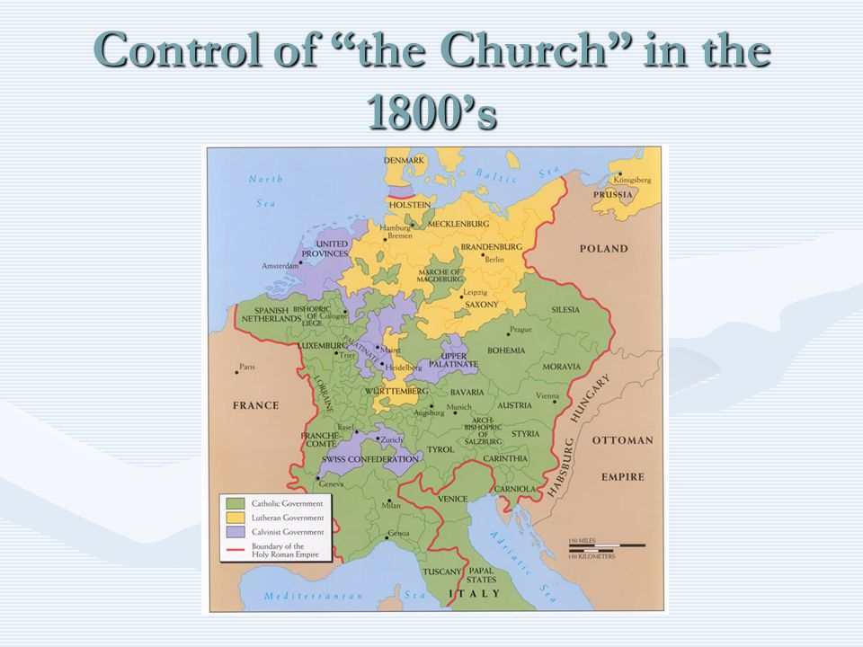 Control of the Church in the 1800's