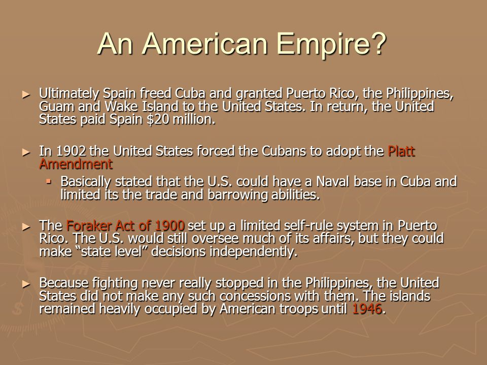 An American Empire