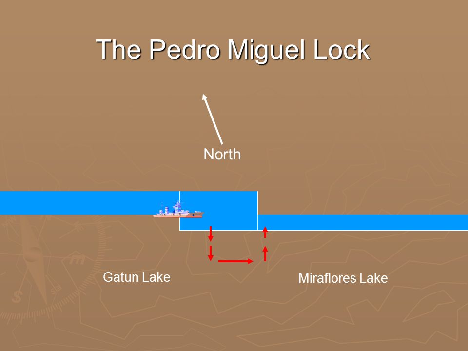 The Pedro Miguel Lock North Gatun Lake Miraflores Lake