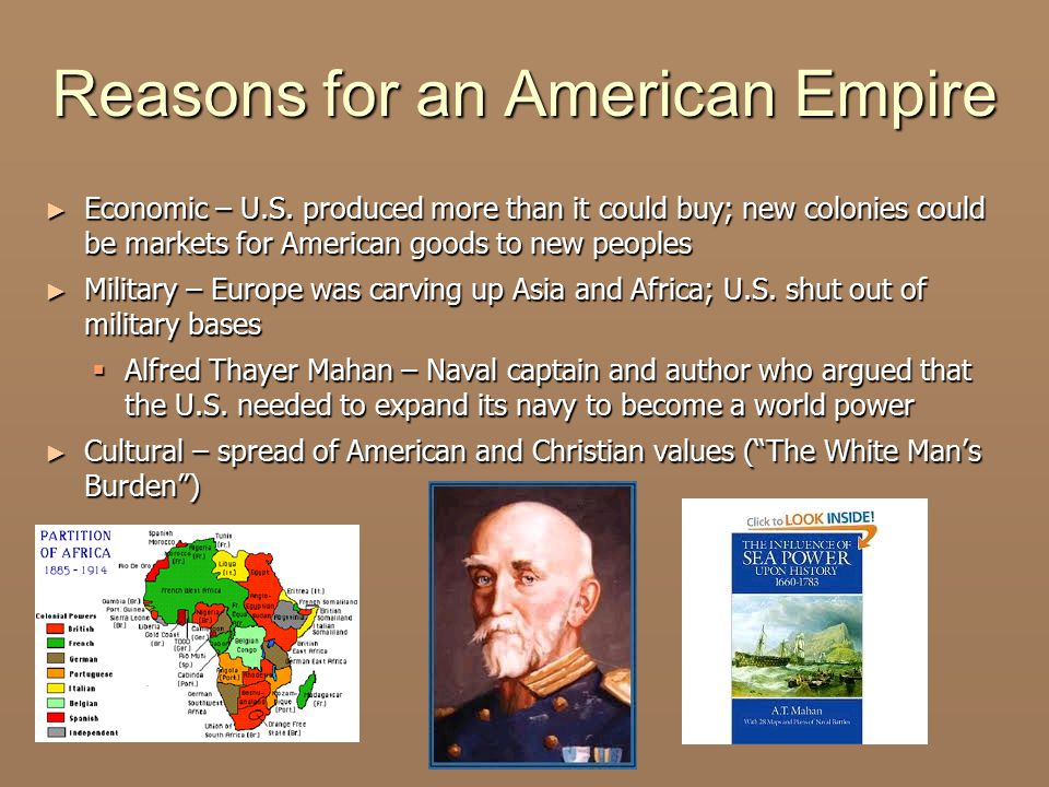 Reasons for an American Empire